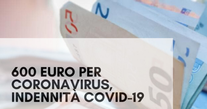Coronavirus Indennita 600 Euro